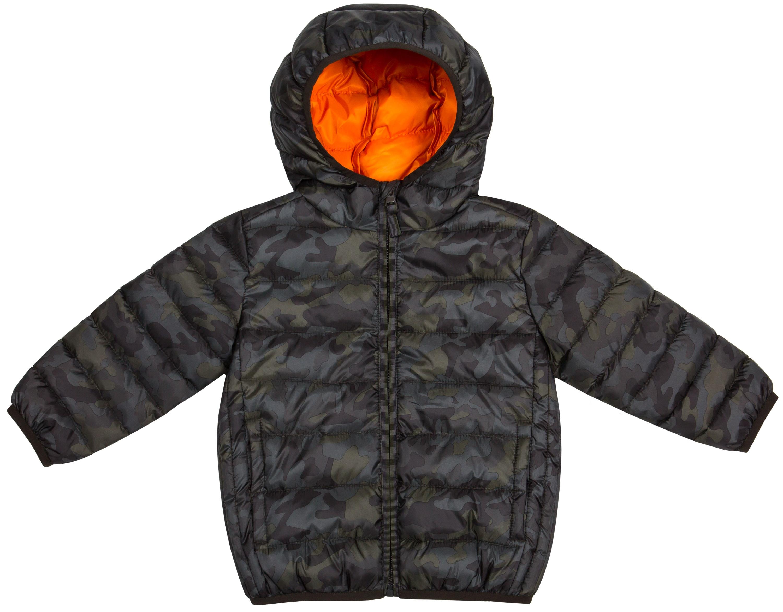 Куртка Barkito Для мальчика зелёная с рисунком камуфляж цена