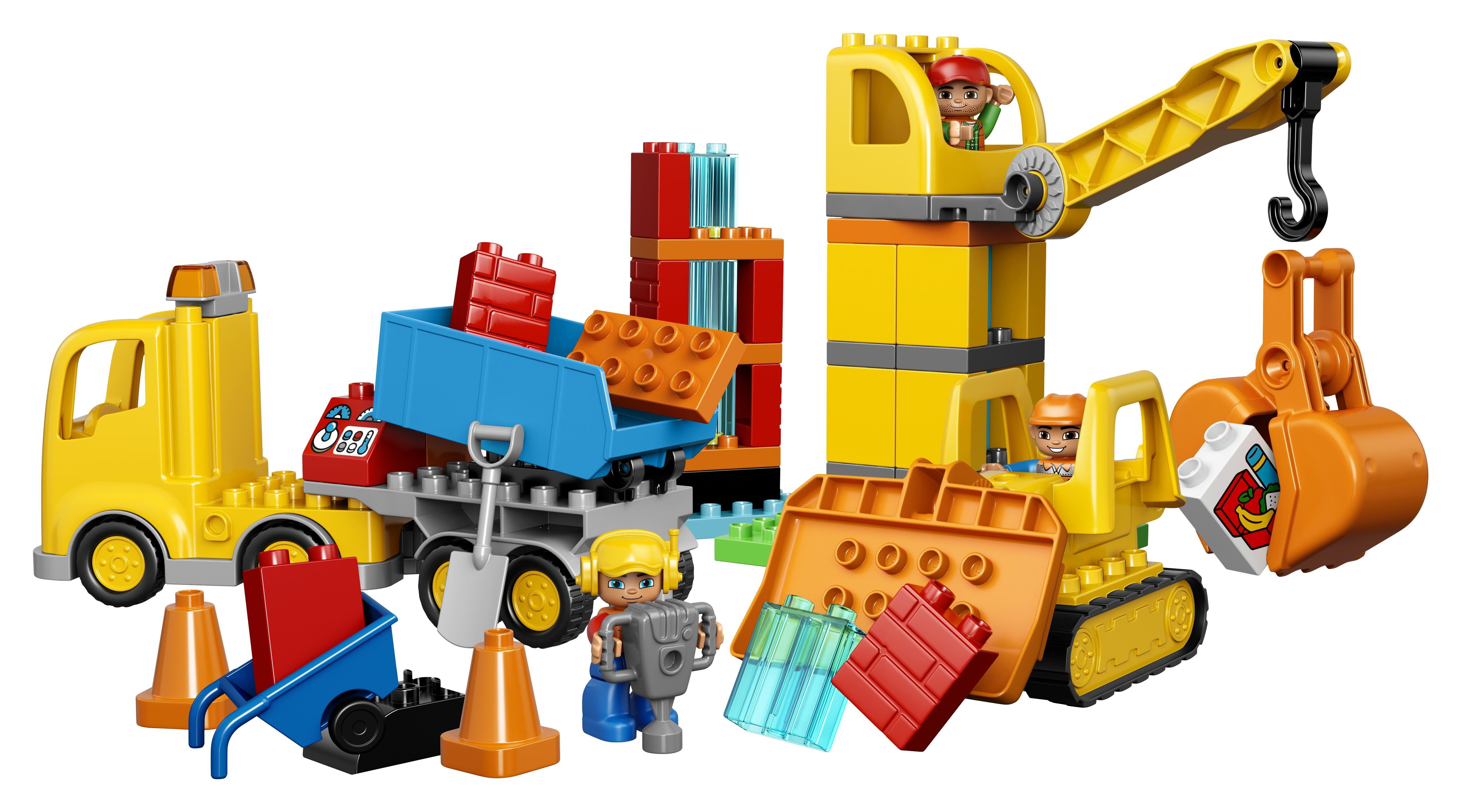 Конструктор LEGO 10813 Большая стройплощадка конструктор lego 10813 большая стройплощадка