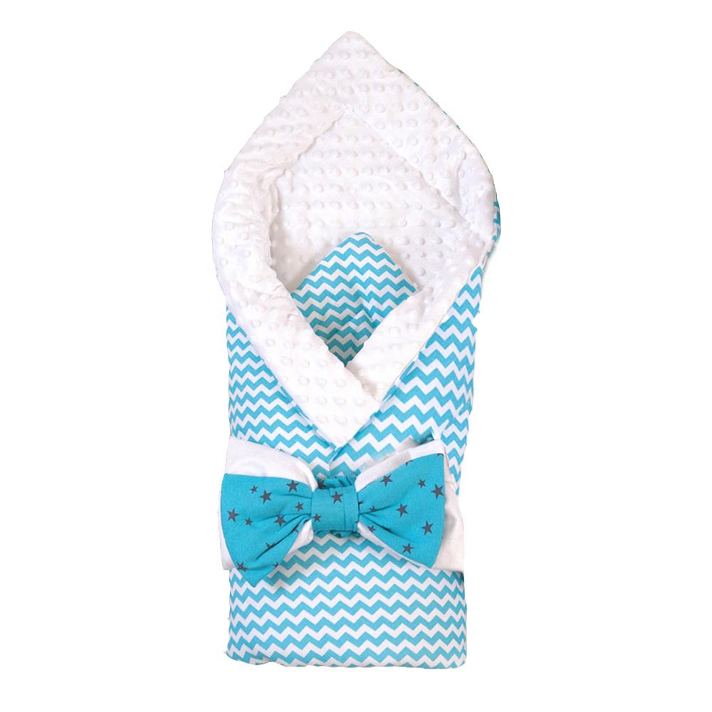 Одеяло на выписку Арго Зигзаг аксессуары для колясок арго одеяло меховое на выписку арго из шитья голубое