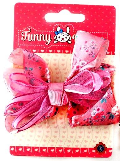 Зажим для волос Funny Bunny Бантик