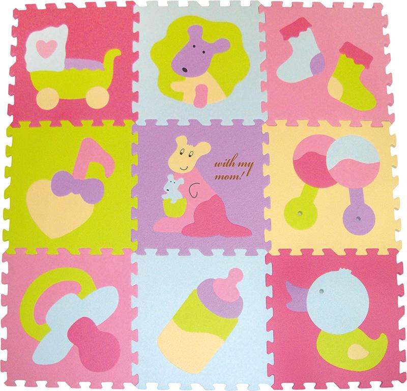 Коврик-пазл ЯиГрушка «Малыш Кенгуру» 9 деталей ЯиГрушка «Малыш Кенгуру» 9 деталей