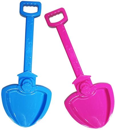 Игрушки для снега Пластмастер Снежная лопата туристическая с деревянным черенком