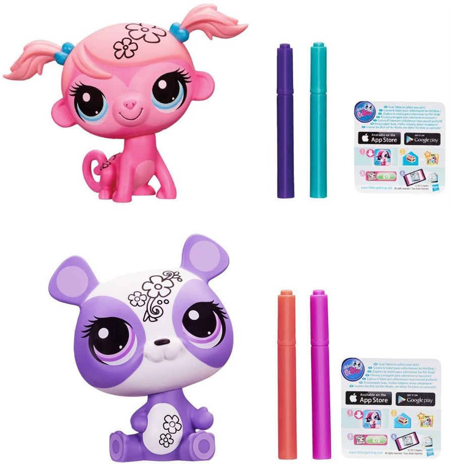 Littlest Pet Shop LITTLEST PET SHOP Укрась зверюшку