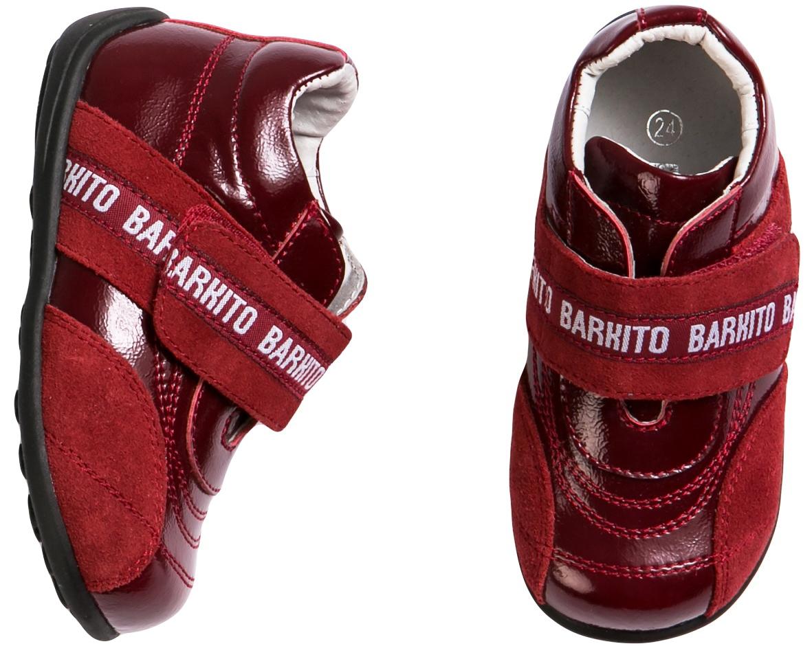 Купить Ботинки и полуботинки, Полуботинки красный, Barkito, Китай, red, Мужской