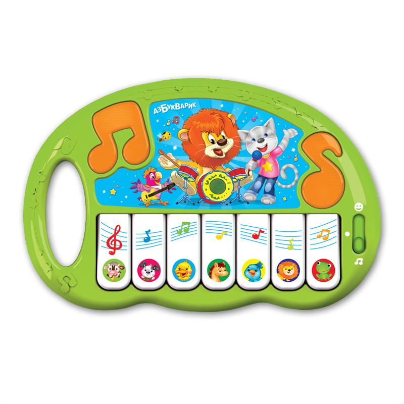 Развивающие игрушки Азбукварик Пианино Азбукварик «Волшебные нотки» в асс.