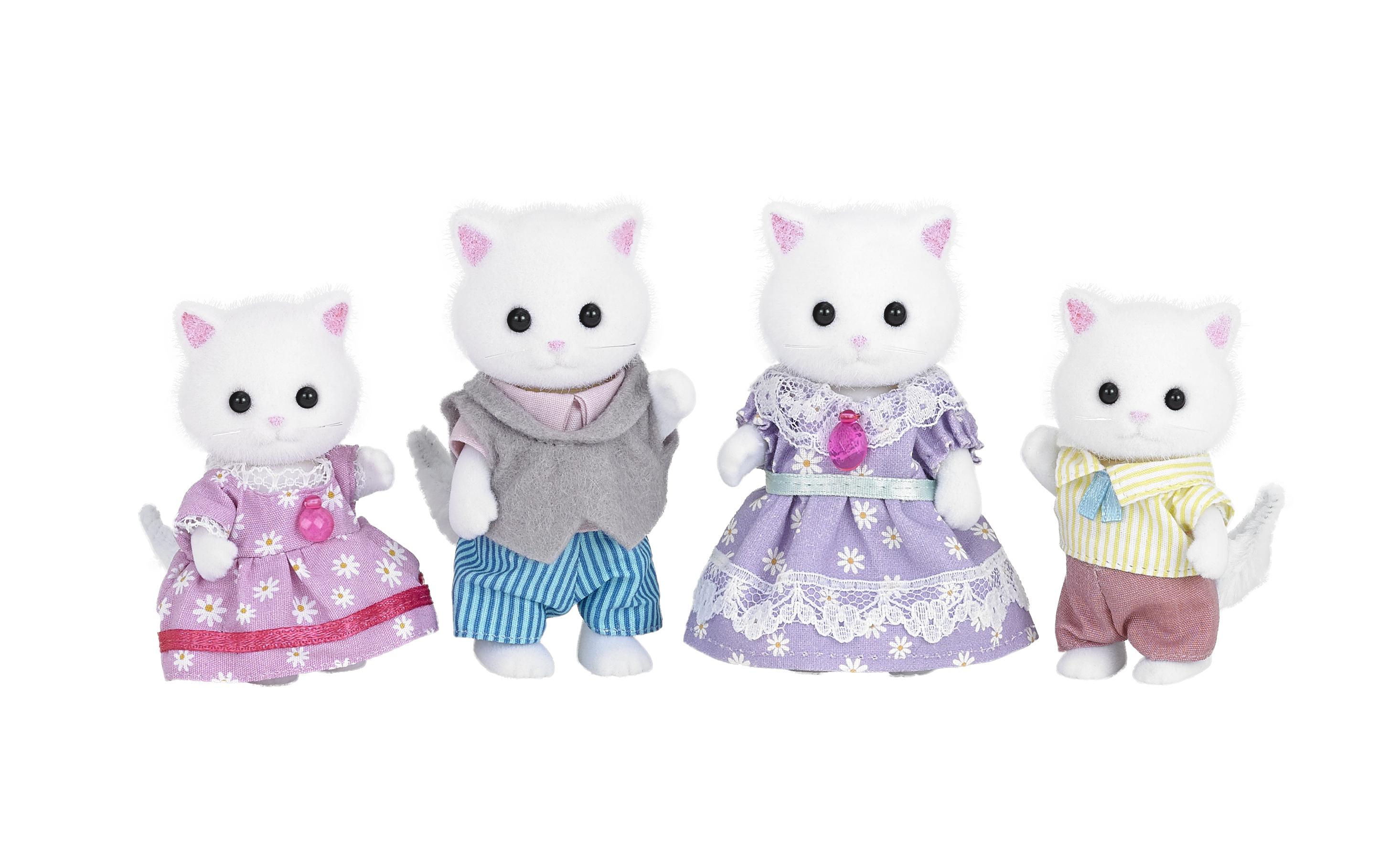 Sylvanian Families SYLVANIAN FAMILIES Семья Персидских котов игрушка sylvanian families семья персидских котов 3137