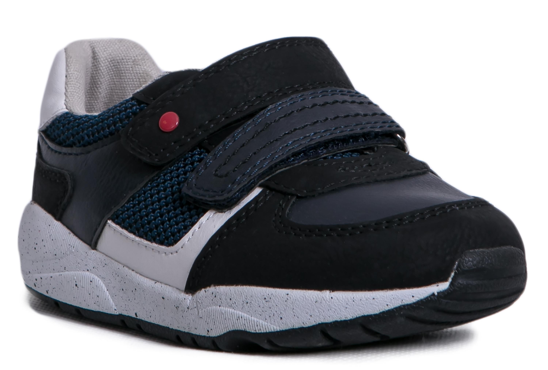Купить Ботинки и полуботинки, Темно-синие, Barkito, Китай, темно-синий, белый, Мужской