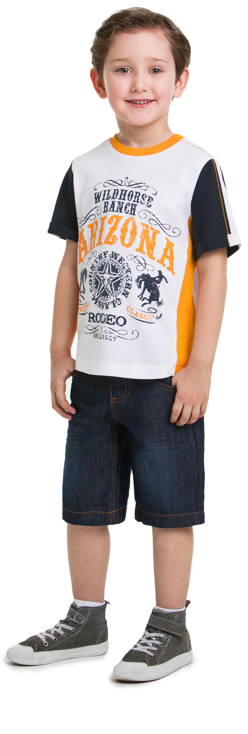 Футболка с коротким рукавом для мальчика Barkito Техас