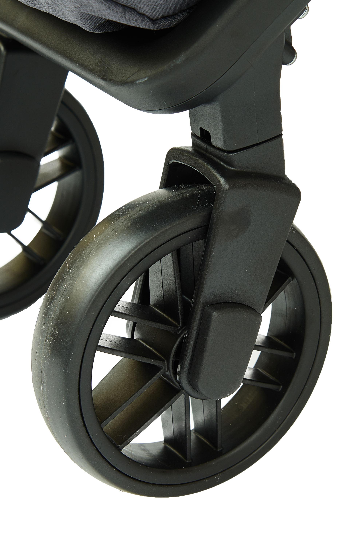 Прогулочная коляска Be2Me Rider светло-серый tizo коляска трость tizo zany 5положений спинки капор накидка на ножки sand