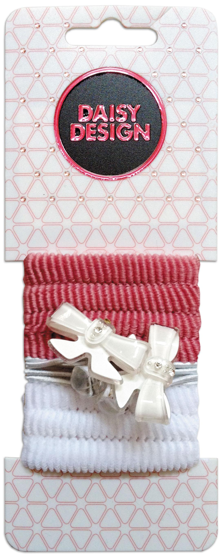 Украшения DAISY DESIGN Резинка для волос Daisy Design «Romantic. Два бантика» набор аксессуаров для волос daisy design sweet hearts бантик