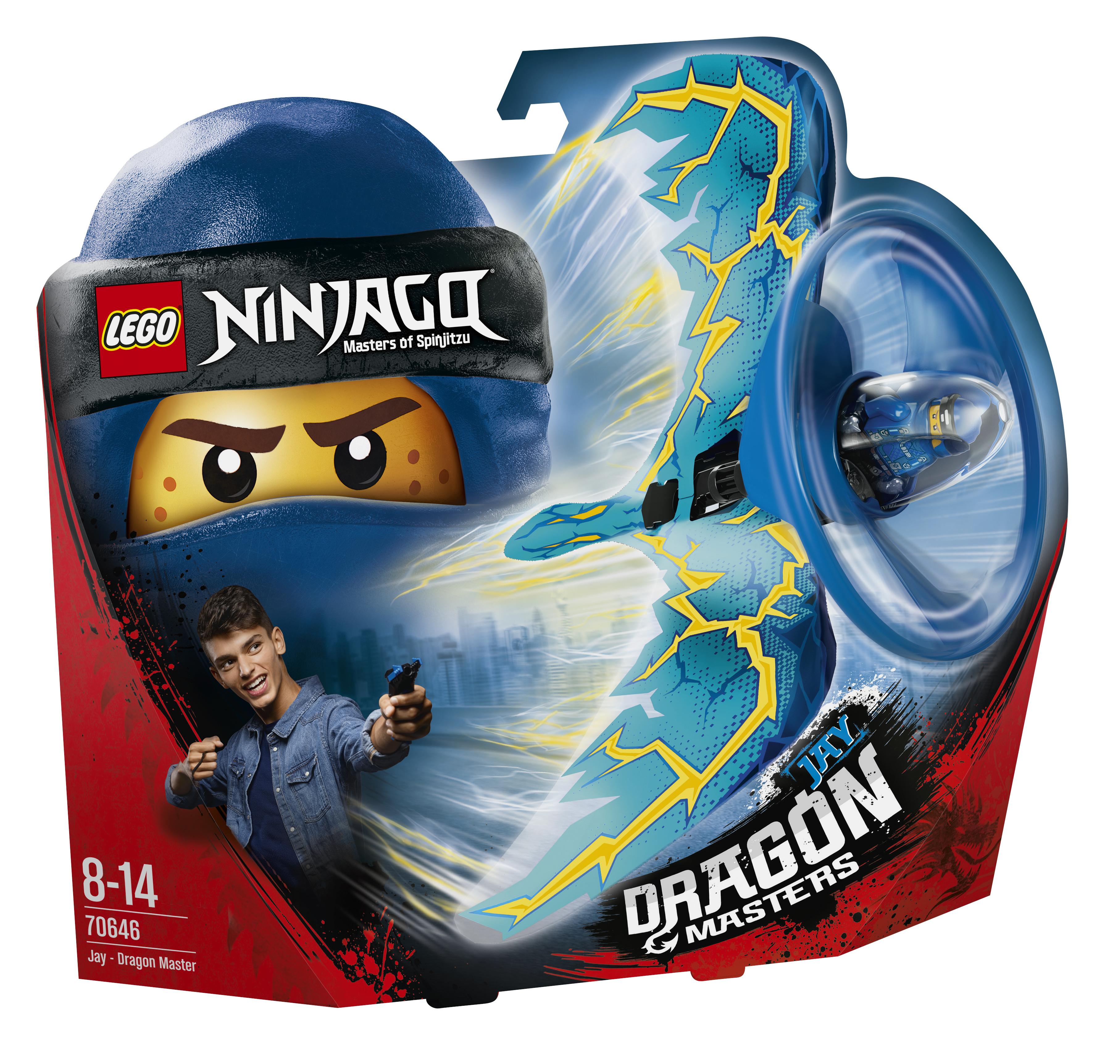 Конструктор LEGO Ninjago 70646 Джей-Мастер дракона