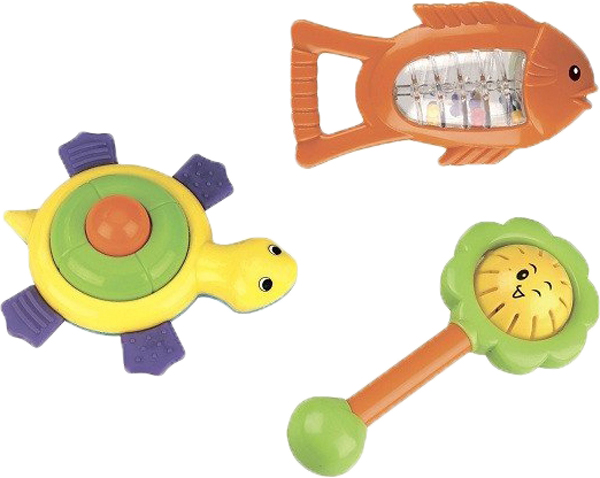 Погремушки Mioshi Первая игрушка комплект носков nike 3ppk cushion crew sx4700 901