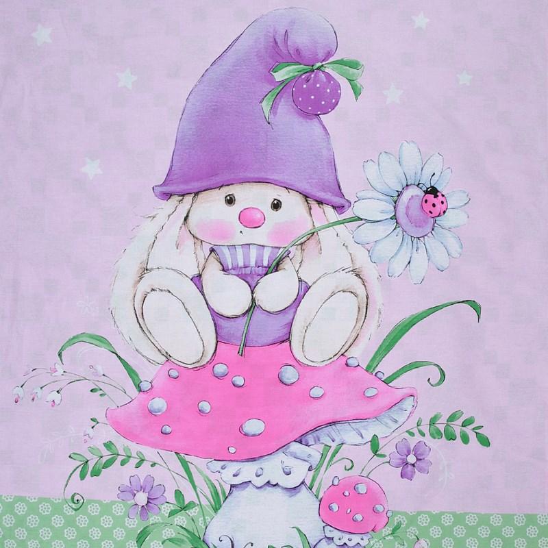 Комплект постельного белья Мона Лиза Зайка комплект детского постельного белья mona liza зайка ми бязь розовый зайка на полянке 521823 3