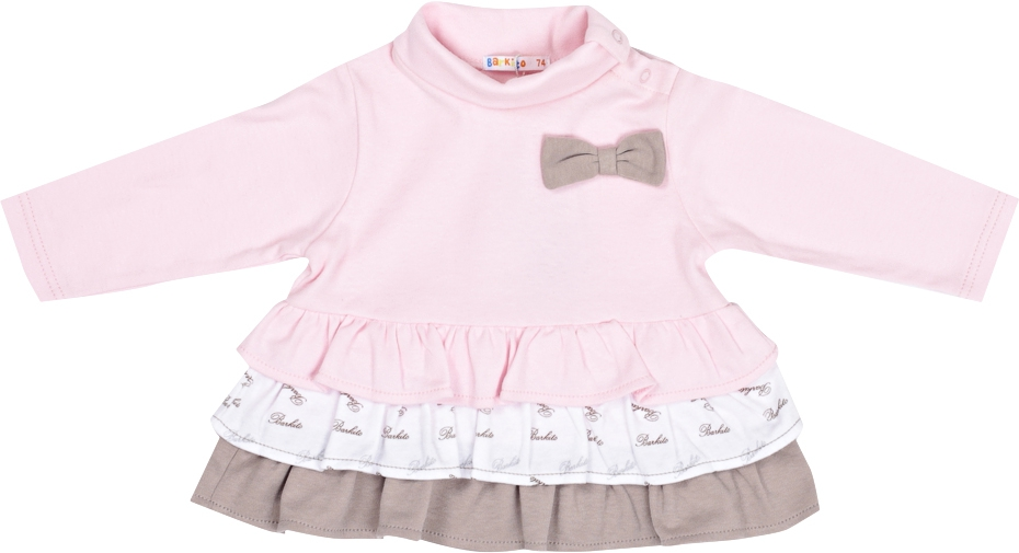 Платья и сарафаны Barkito Платье для девочки Маленькая Леди Barkito розовый dress emma monti платья и сарафаны приталенные