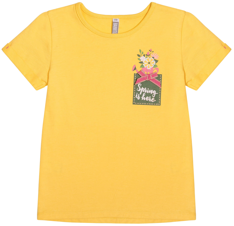 Футболка с коротким рукавом Barkito Золотая весна футболка barkito с коротким рукавом для девочки зеленый