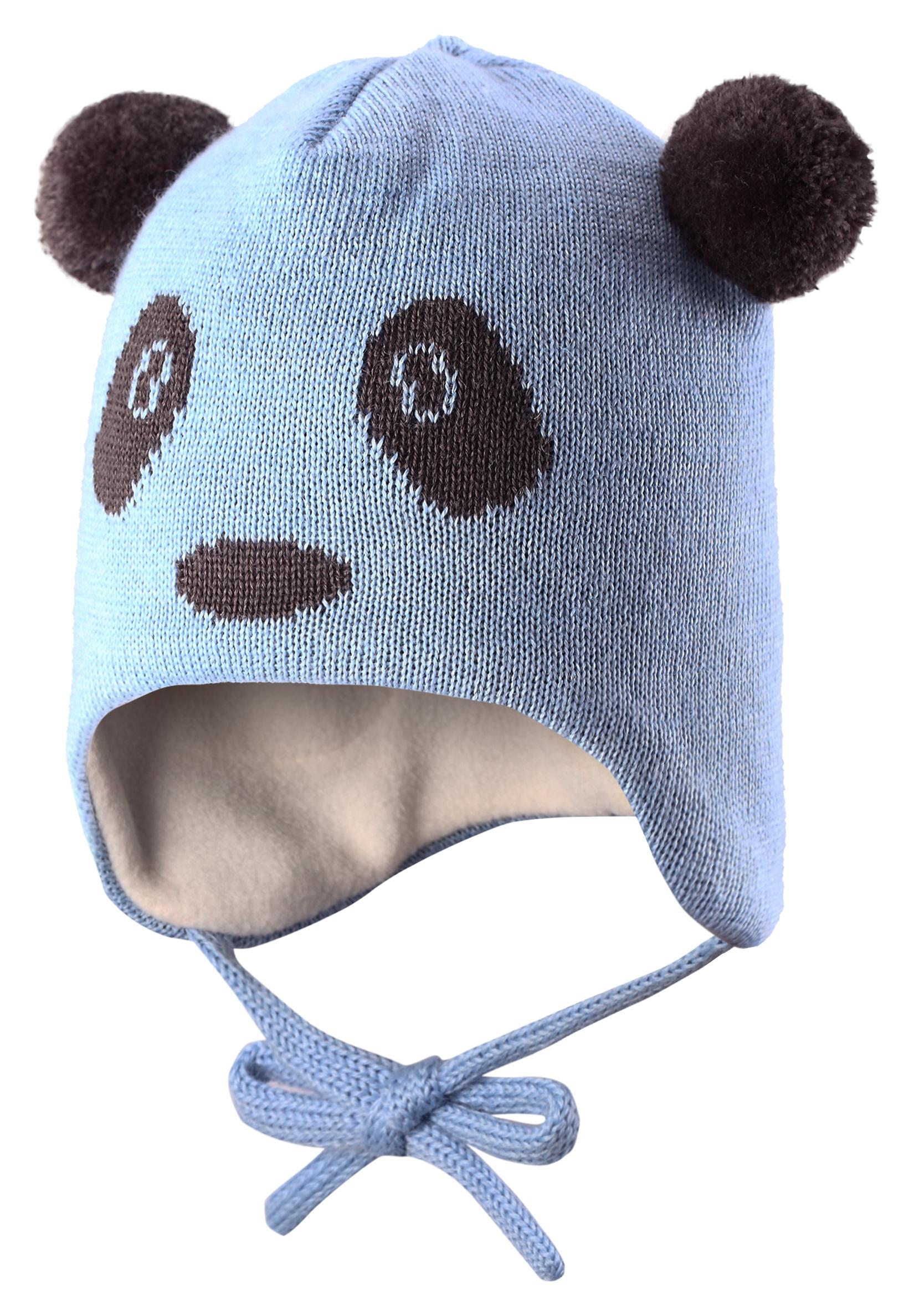 Купить Головные уборы, Шапка для мальчика Reima, светло-голубая, Lassie, Китай, светло-голубой, Мужской