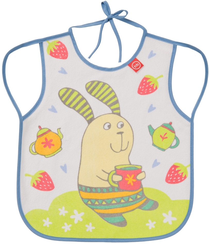 Слюнявчики для кормления Happy baby Baby Bib With Hangers