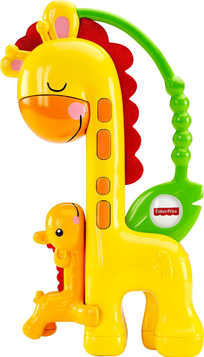 Погремушки Fisher Price Жираф погремушки simba букашка прорезыватель