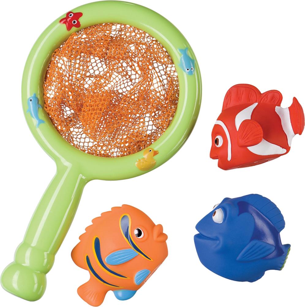 Игрушки для ванны Happy baby Little Fisher игрушка happy baby 32008 little fisher