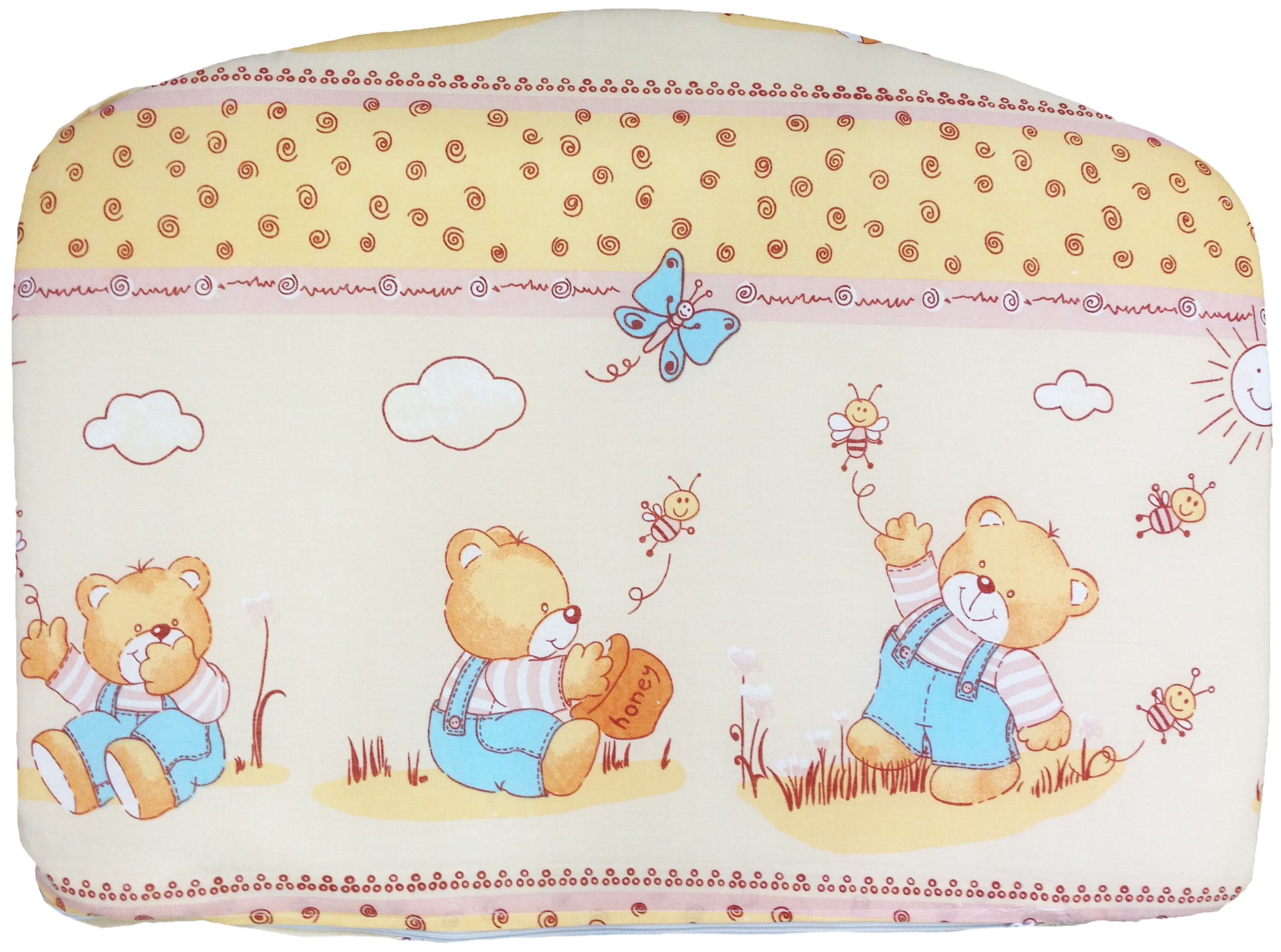 Постельное белье для малышей Луняшки Мишка с медом 7 предметов