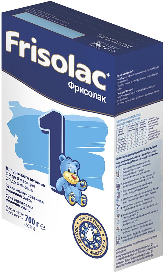 Молочная смесь Friso Фрисолак 1 с рождения 700 г молочная смесь friso фрисолак 1 га с рождения 400 гр
