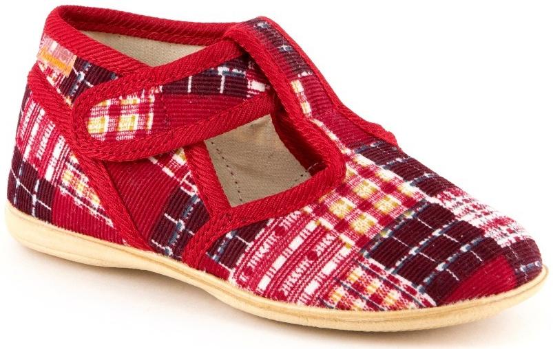 Тапочки Домашки Туфли комнатные малодетские для девочки Домашки, красные тапочки домашки туфли домашние малодетские