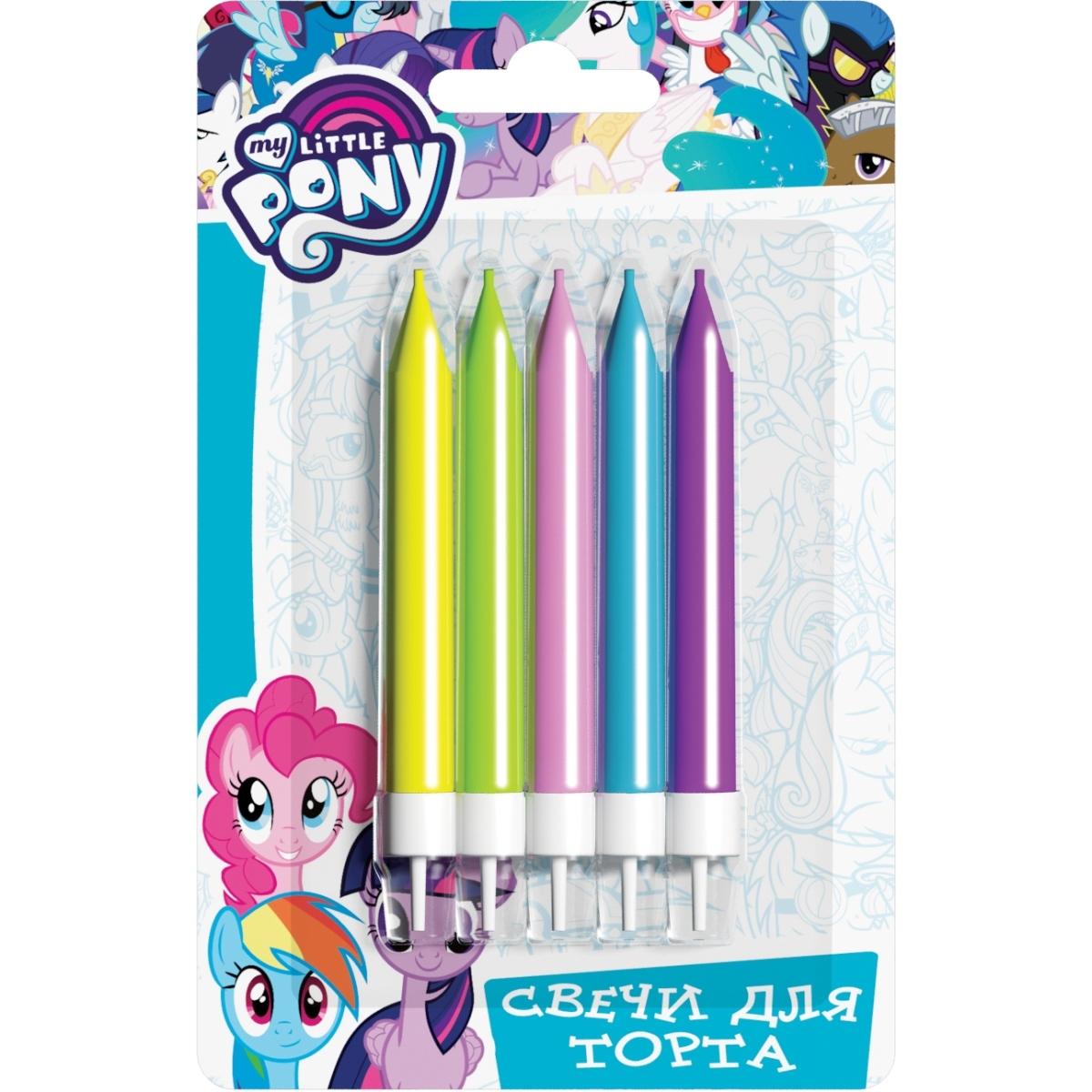 My Little Pony My Little Pony С держаттелем 6,5 см 5 шт little me тонкая трикотажная 5 шт