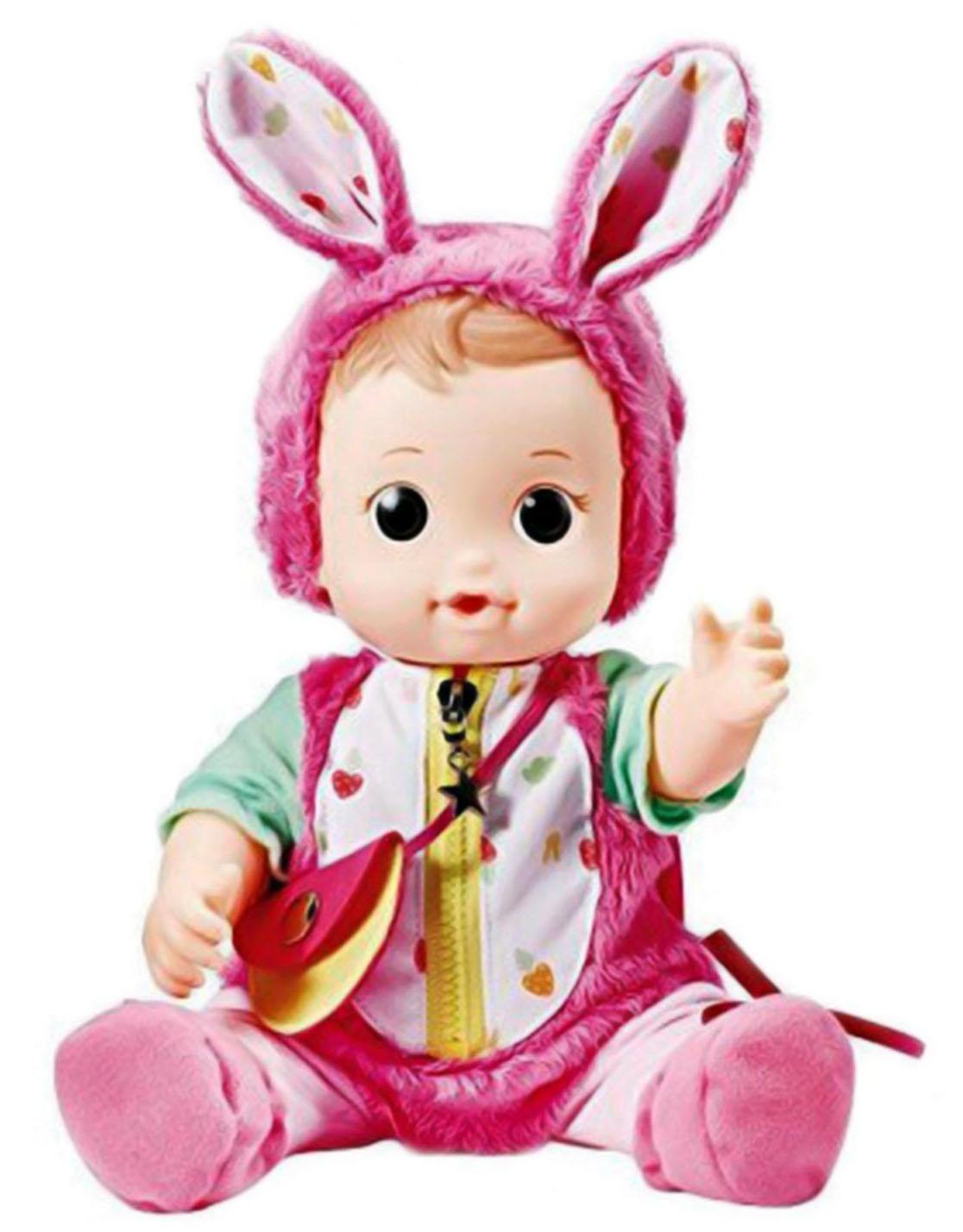 Фото - Другие куклы Консуни Кукла Консуни «Уход за малышом: Малышка Хлоя» 27 см с аксесс. уход за автомобилем