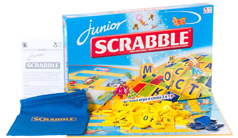 Классические Scrabble Настольная игра Scrabble «Junior» настольная игра scrabble классический