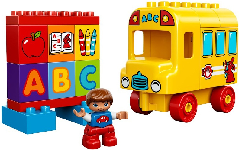 LEGO DUPLO LEGO Duplo Мой первый автобус (10603) lego lego duplo 10839 тир