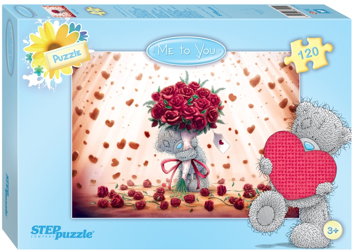 Пазлы Step Puzzle Me to You 120 эл. в ассортименте пазл step puzzle 120 эл в ассортименте