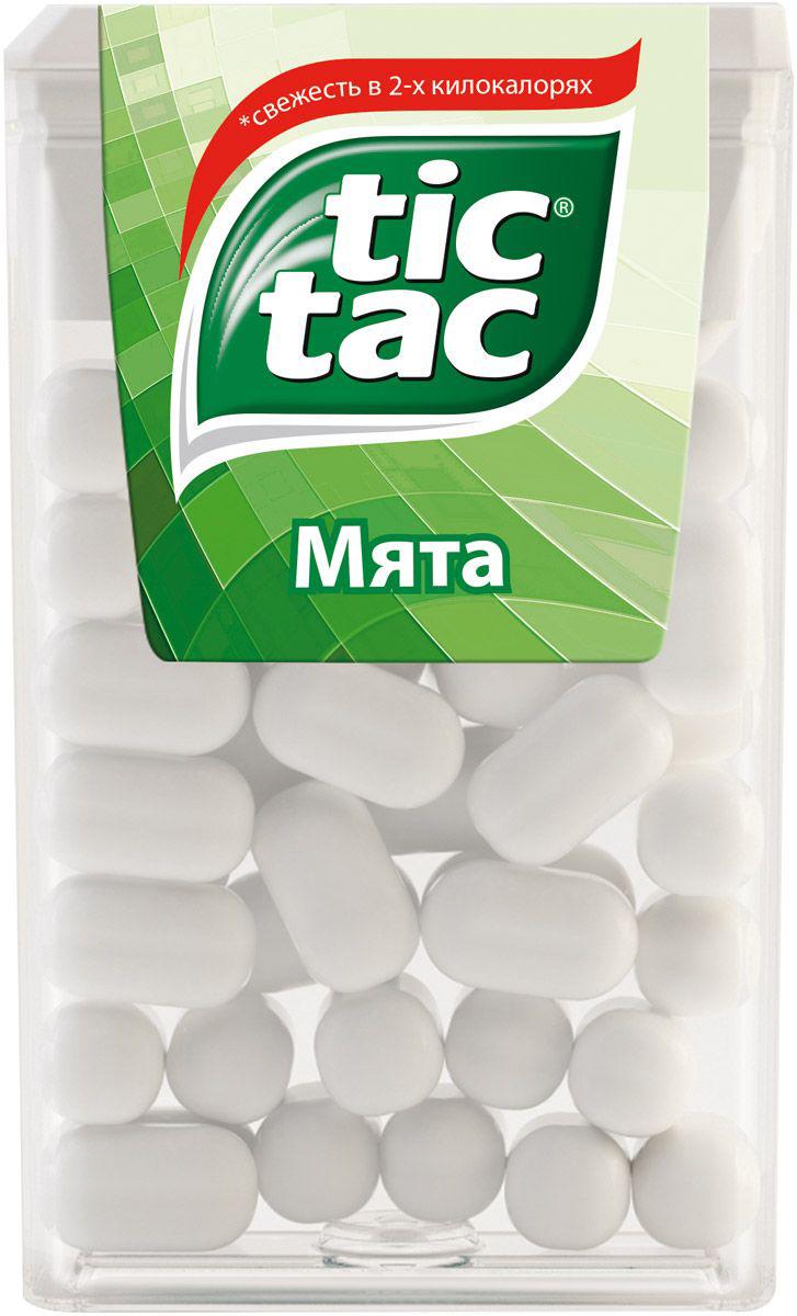 Десерты Tic Tac Драже Tic Tac «Мята» 16 г tic 181s