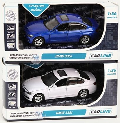 Машинки и мотоциклы Carline BMW 335i 1:36