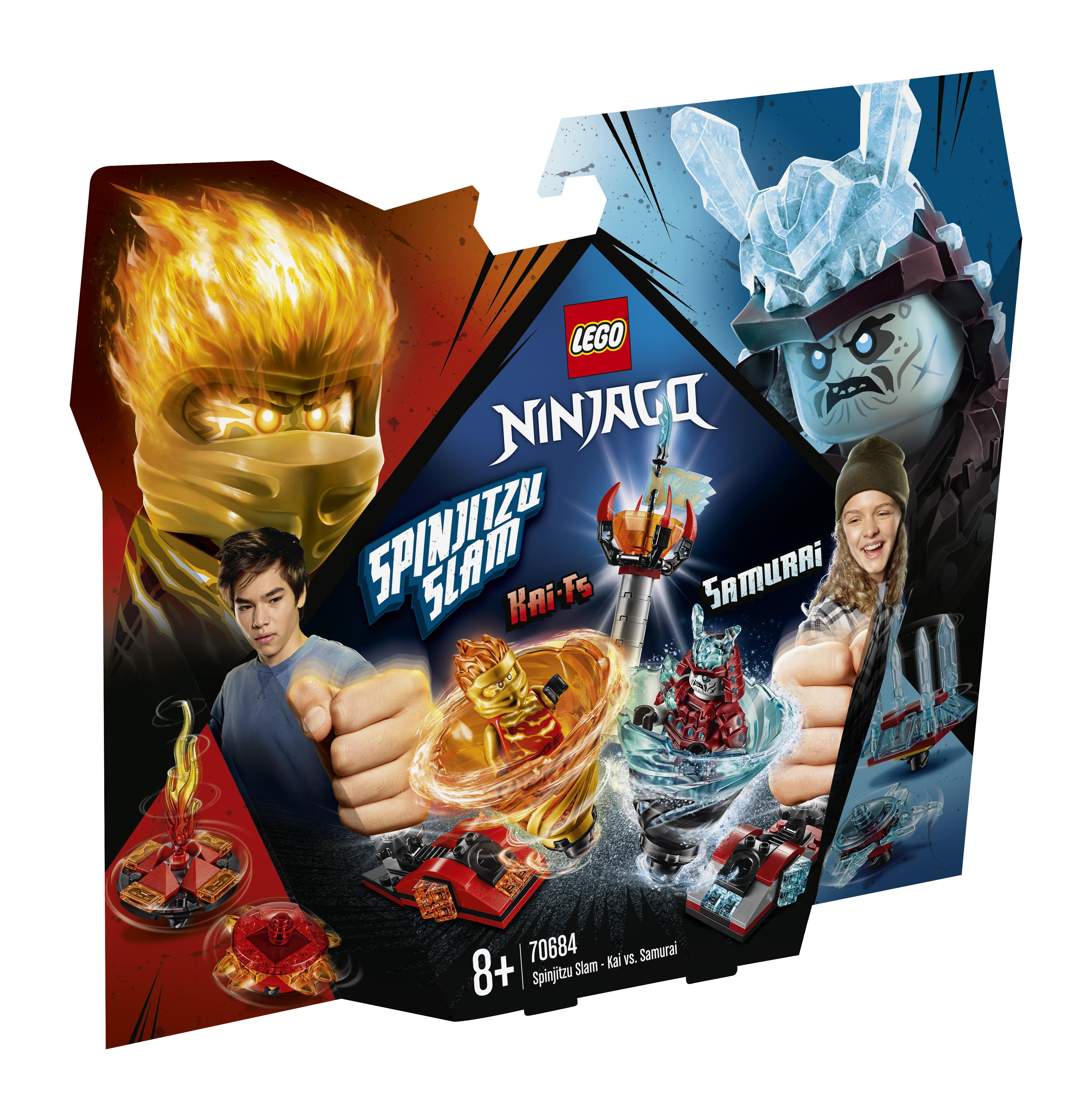 Конструктор LEGO Ninjago «Бой мастеров кружитцу-Кай против Самурая»