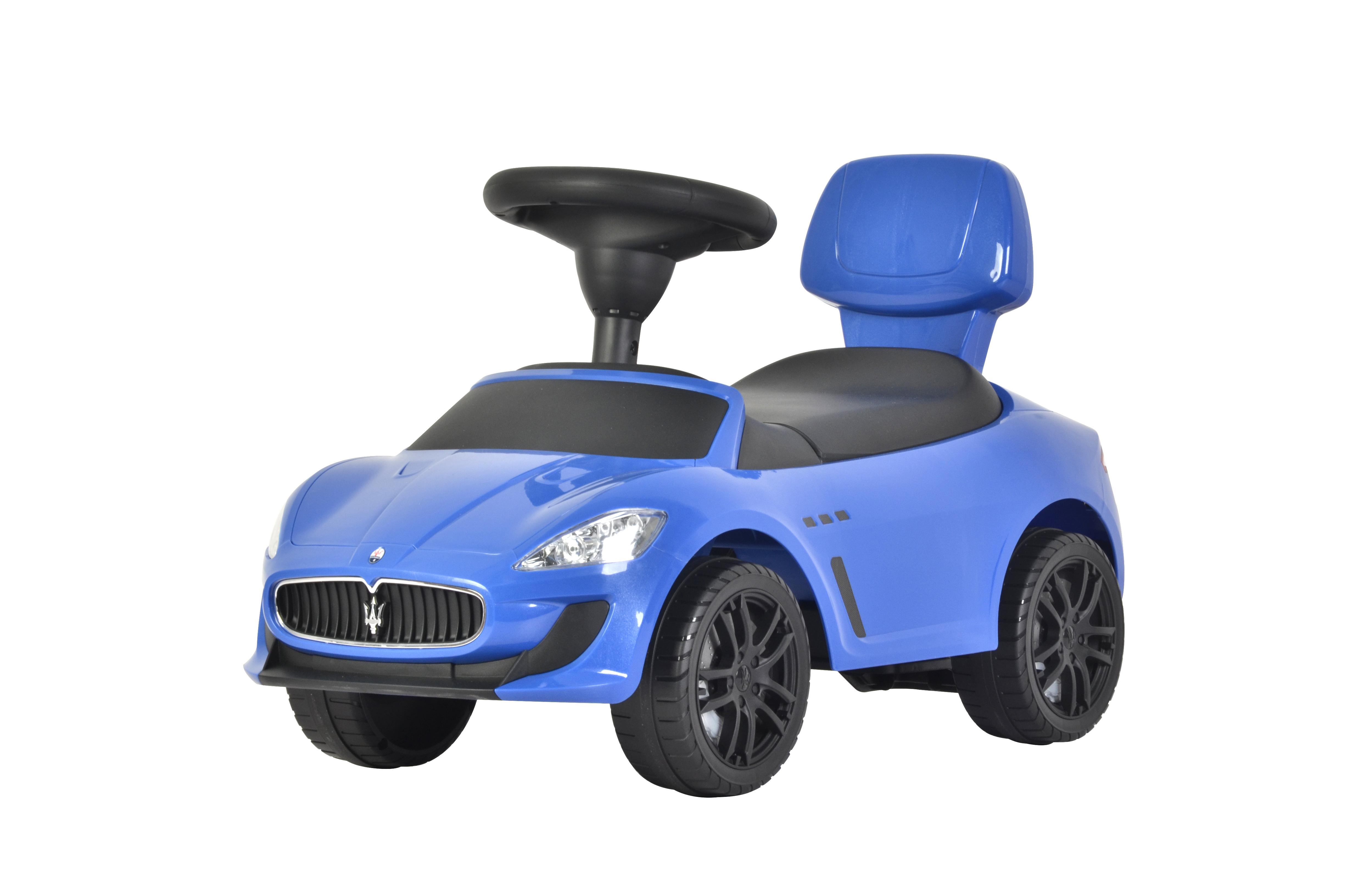 Машина-каталка Maserati Maserati голубая майка борцовка print bar maserati