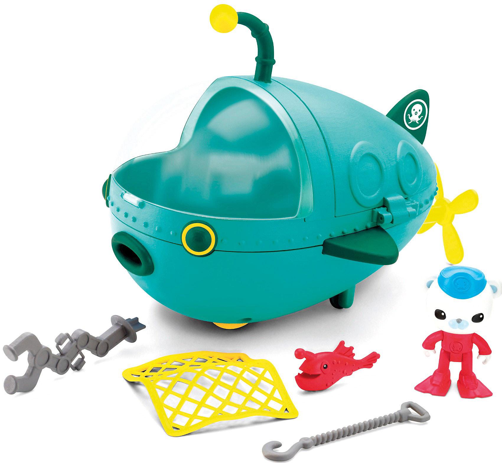 Игровые наборы и фигурки для детей Mattel Октонавты Подводная лодка подводная лодка подводная лодка угол 5 комплектов общей горячая и холодная вода 4 минуты taocifaxin символов треугольник клапан порт клапан