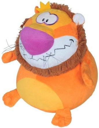 Мягкие игрушки СмолТойс Лев-шарик классические смолтойс заяц шарик