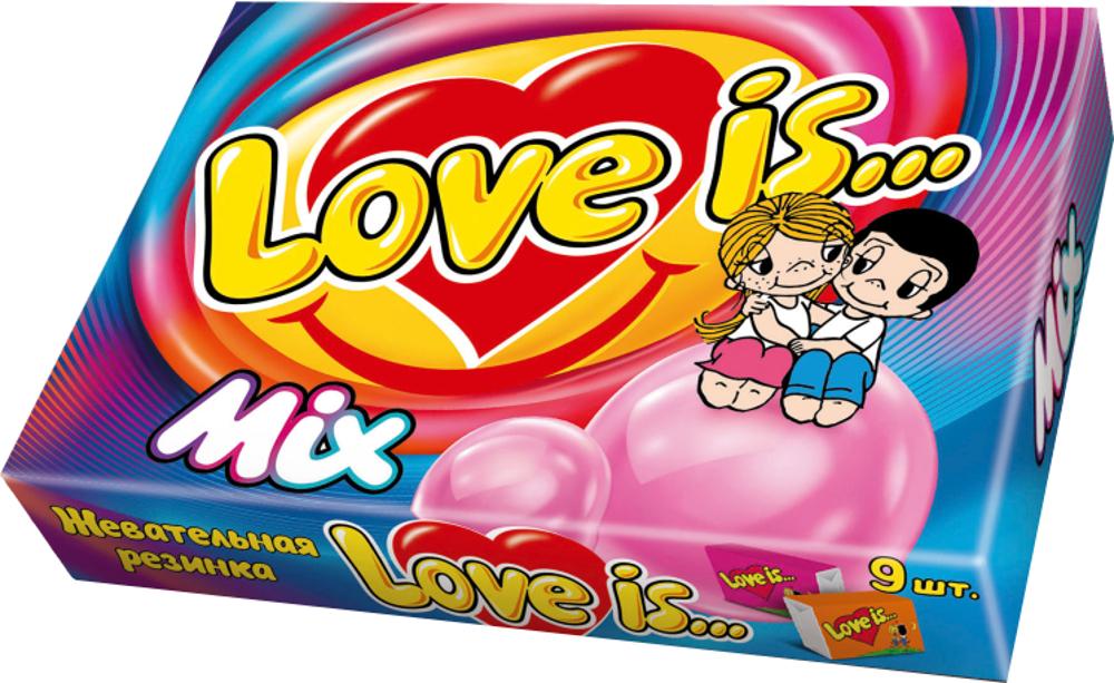 Купить Жевательная резинка, Love is... MIX 9 шт., 1шт., Love is LOVEIS37_8Г, Турция