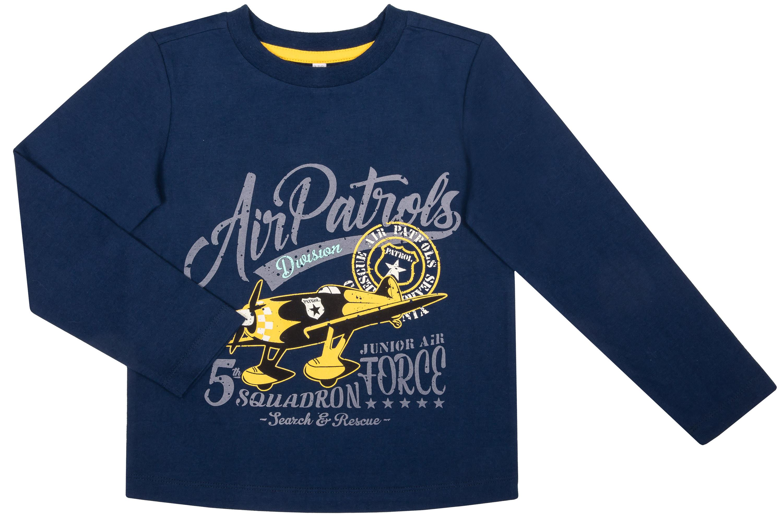 Футболка с длинным рукавом Barkito Пилот футболки barkito футболка с длинным рукавом для мальчика barkito монстр трак темно синяя