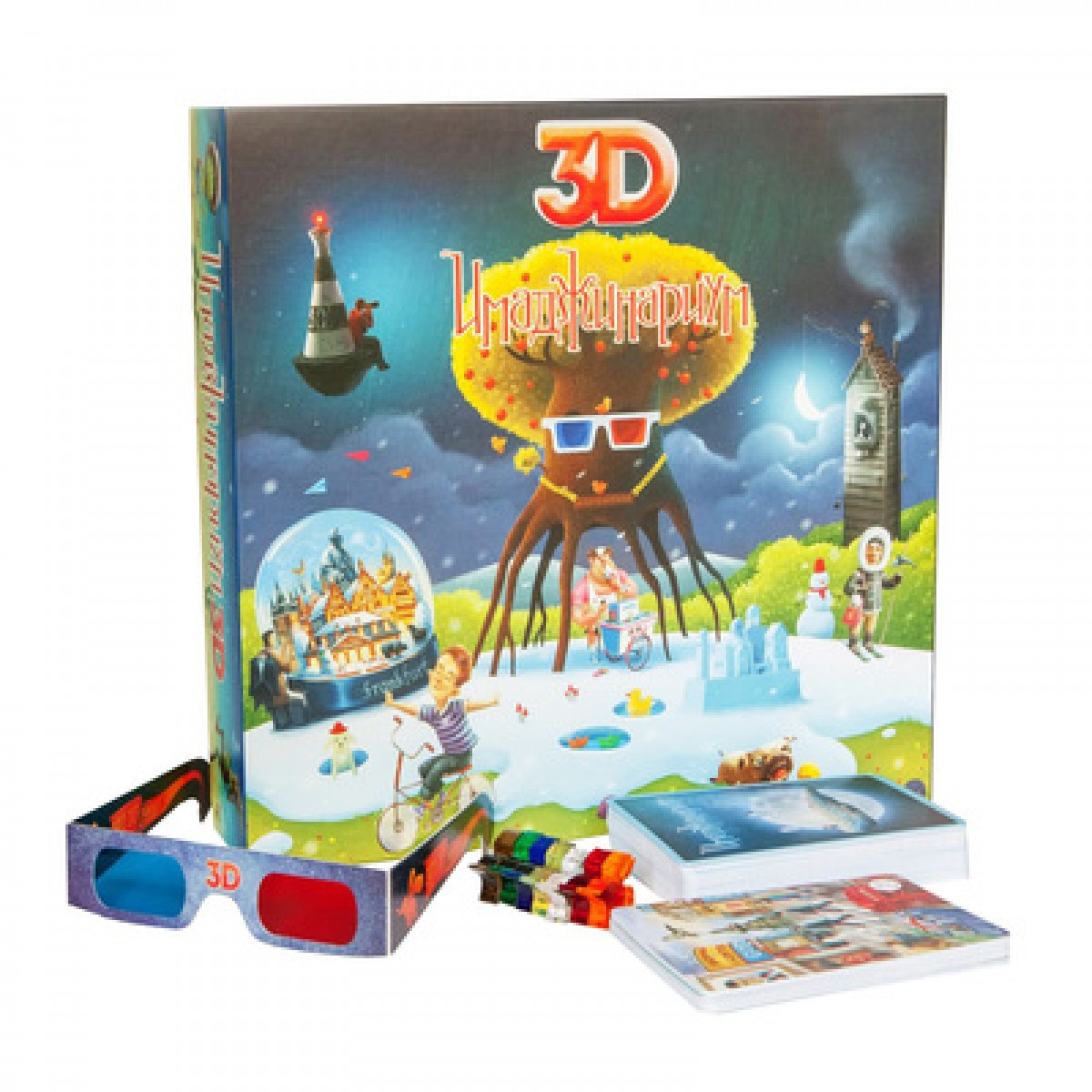 Настольная игра CosmodromeGames Имаджинариум 3D развлекательные игры cosmodromegames имаджинариум 3d