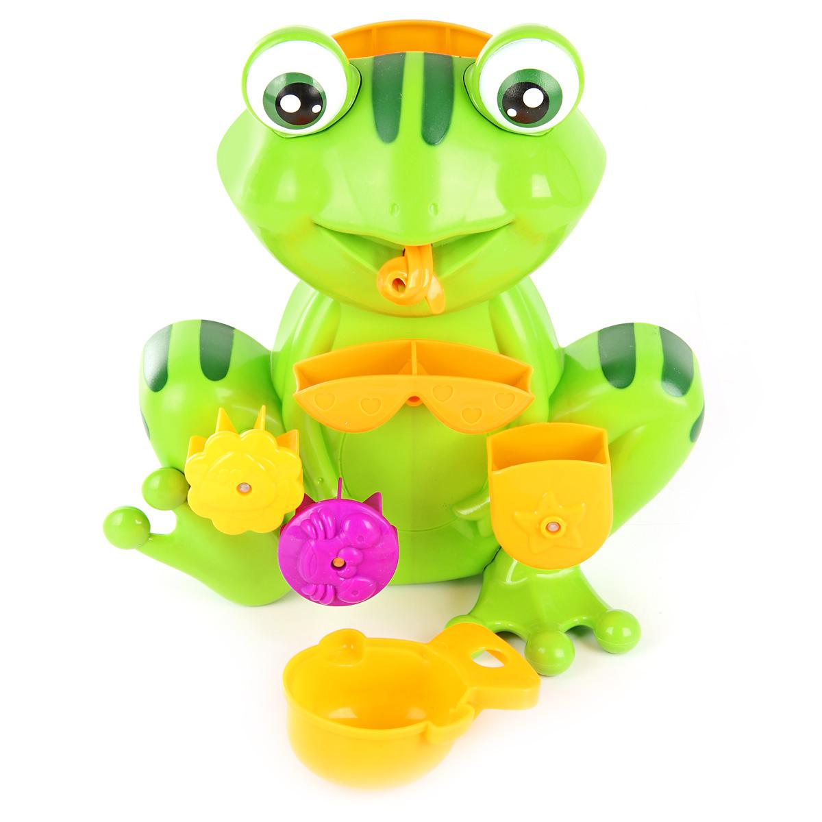 цены Игрушки для ванны Ути Пути Мельница. Лягушка