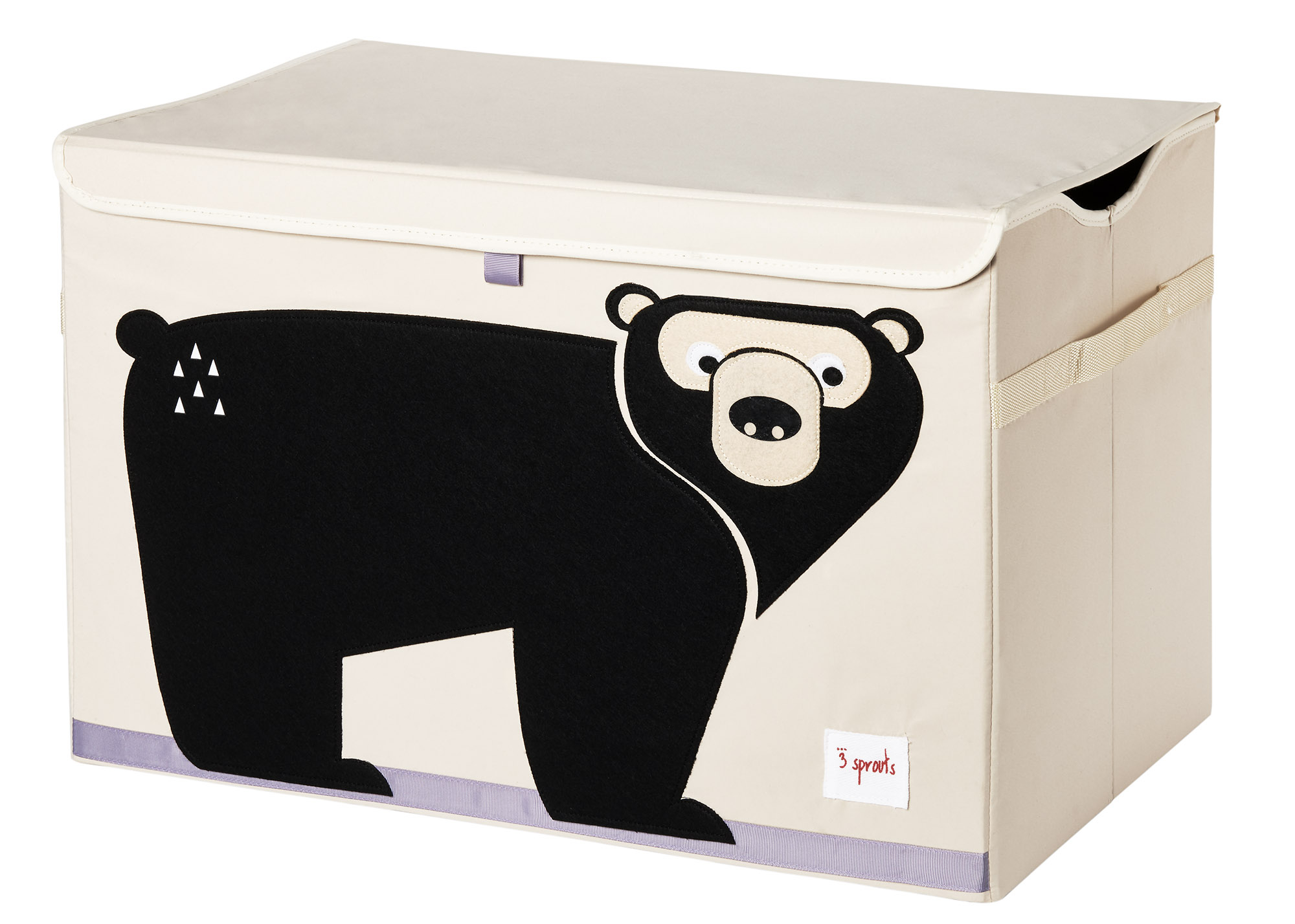 Ящики и корзины для игрушек 3 Sprouts Black Bear сундук большой 2557l