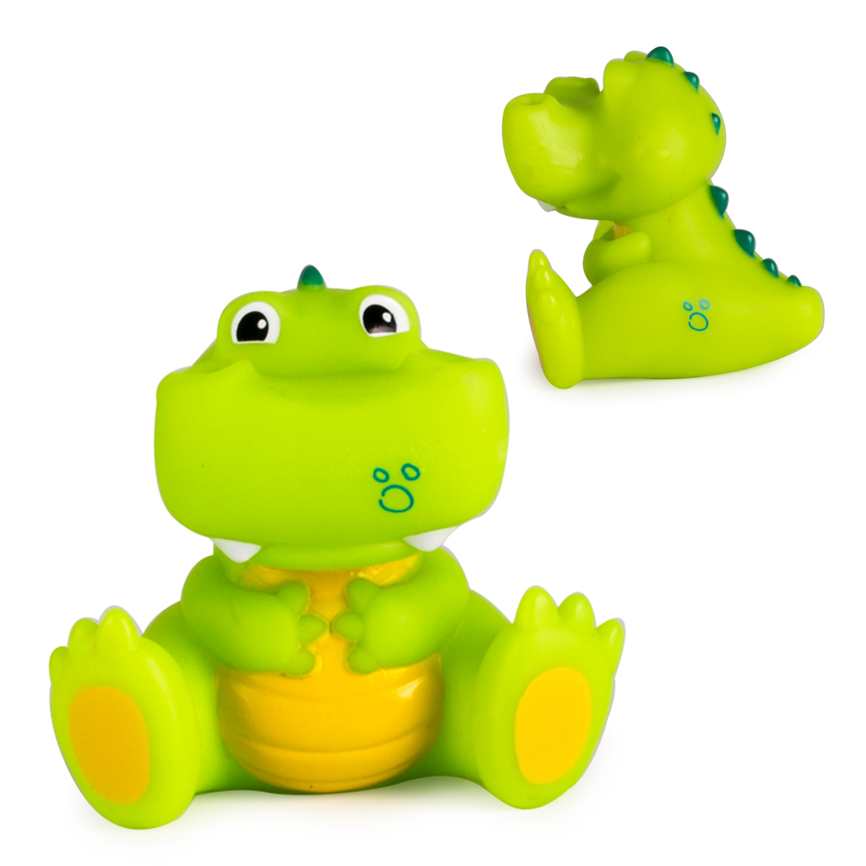 Игрушки для ванны Happy Snail Крокодил Кроко 17HSB04CR игрушки для ванны курносики игрушка для ванны крокодил 25166