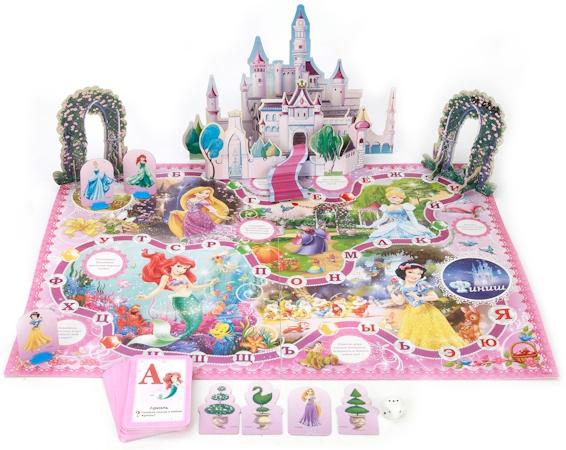 Развлекательные игры Умка Настольная игра Умка «Дисней Принцессы» росмэн пенал золушка принцессы дисней