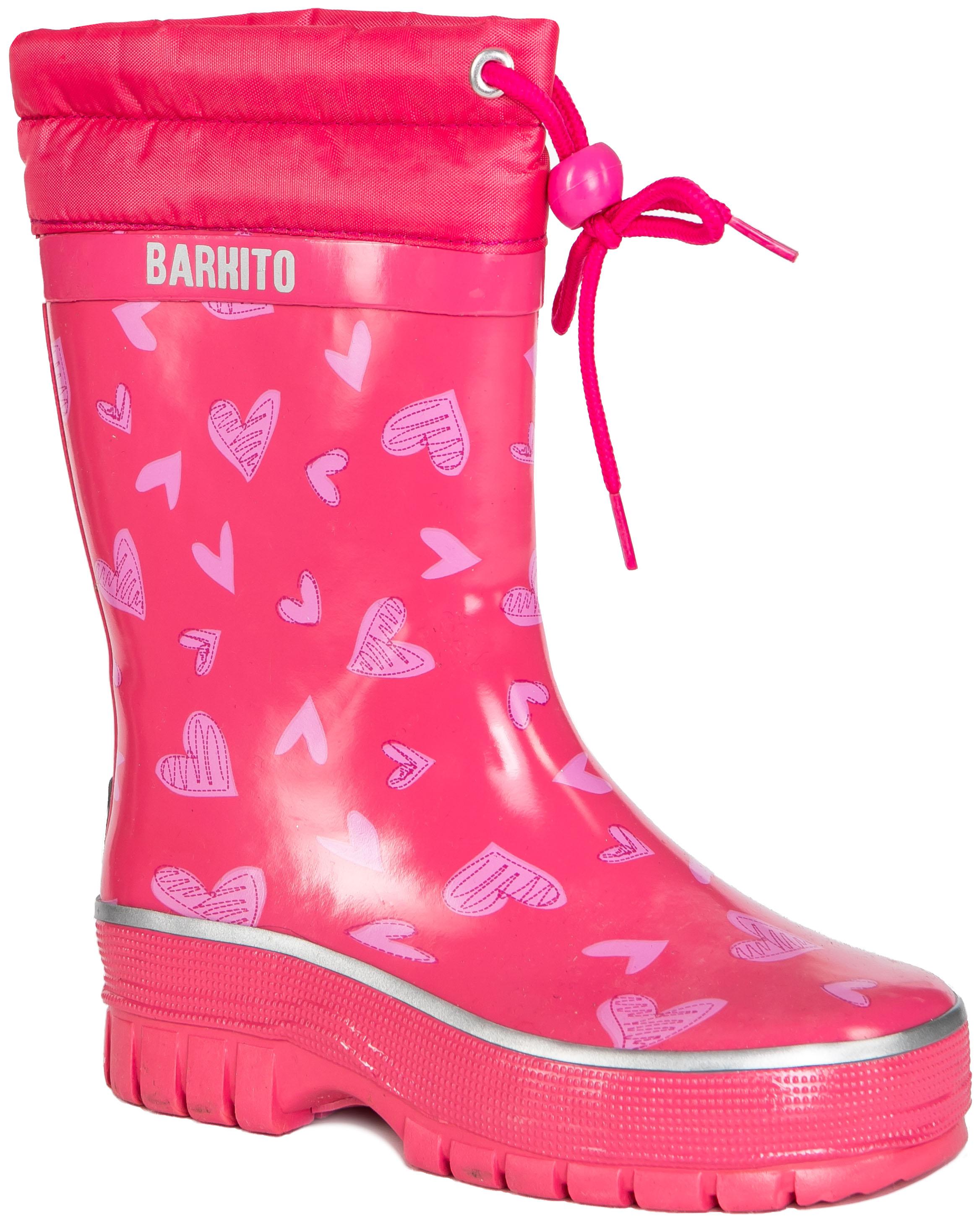 Купить Резиновые сапоги, KRS18205-1, Barkito, Китай, pink, Женский
