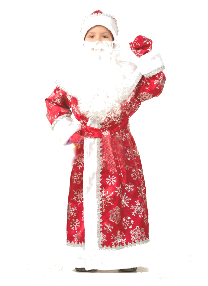 Костюмы и маски Батик Карнавальный костюм Батик «Дед Мороз», размер 30 карнавальные костюмы magic home карнавальный костюм