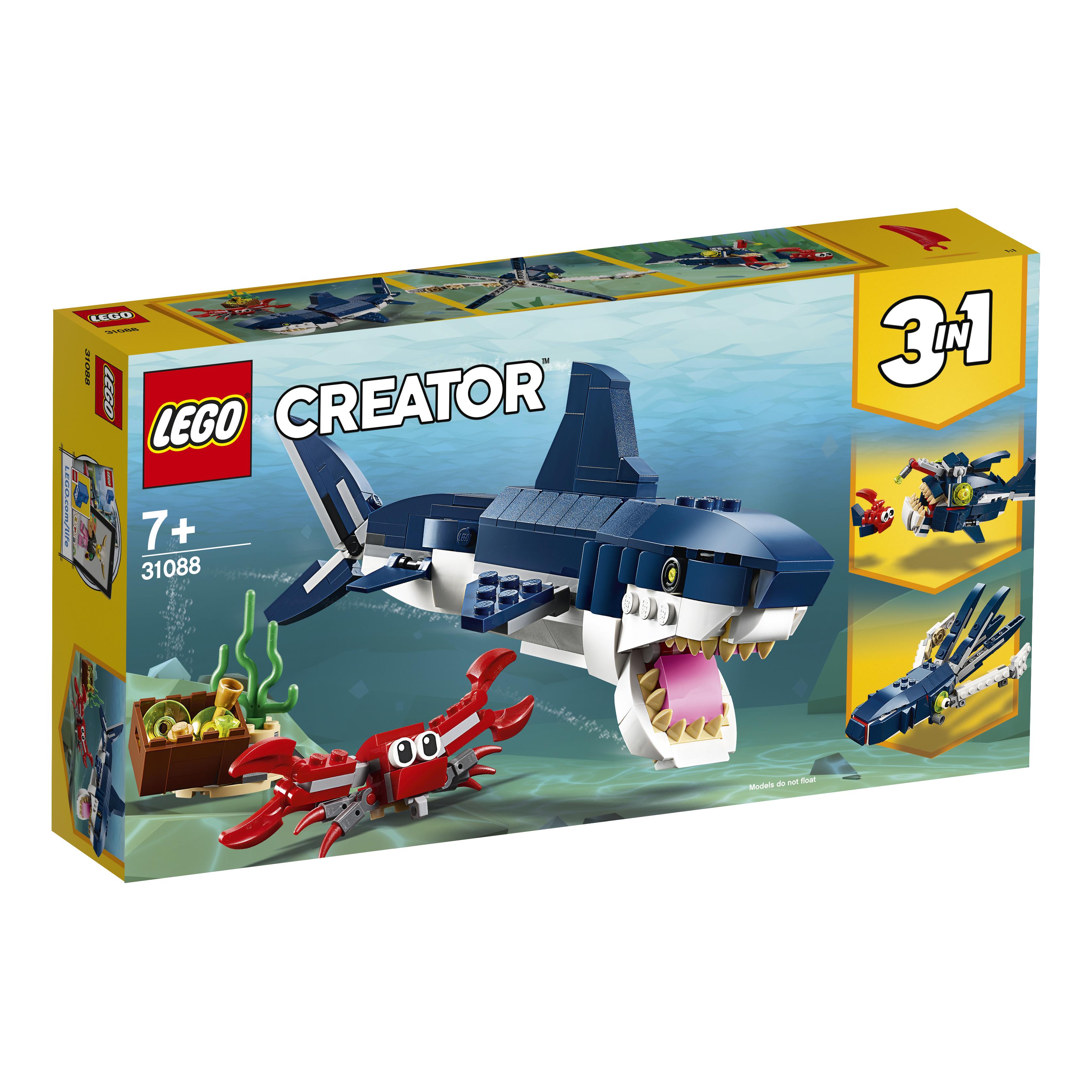 Конструктор LEGO LEGO Creator 31088 Обитатели морских глубин цена