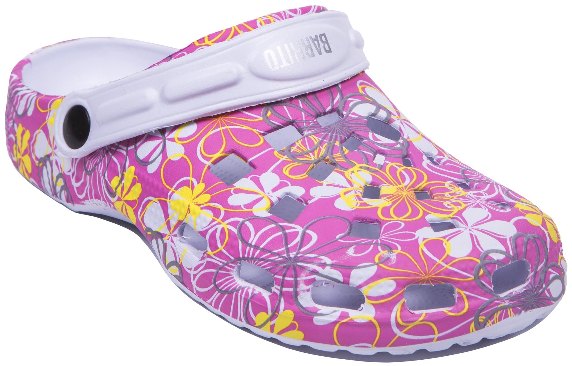Сабо для пляжа и бассейна Barkito для девочки обувь для девочек barkito 204031