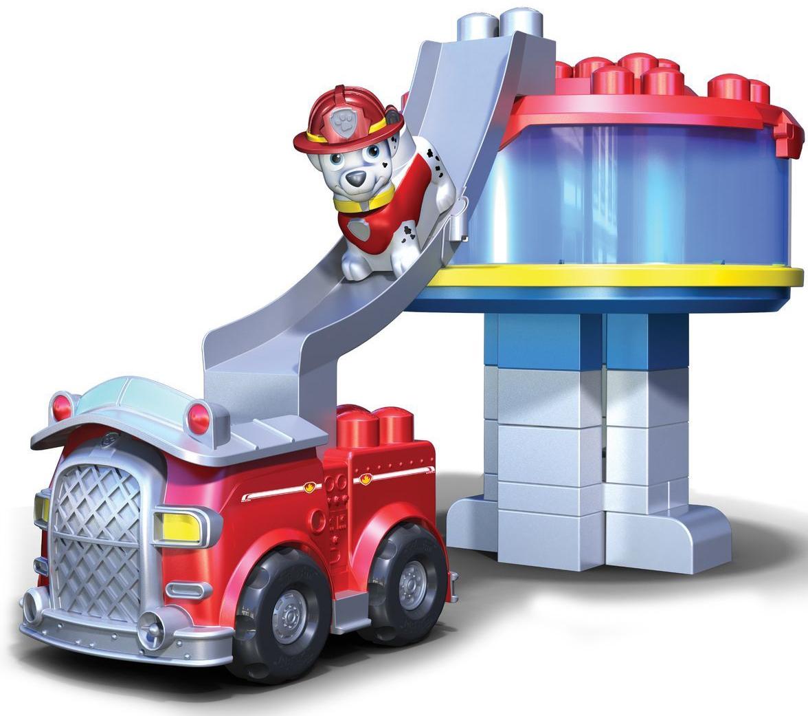 конструктор Paw Patrol Офис спасателей и машина Маршала офис для юриста
