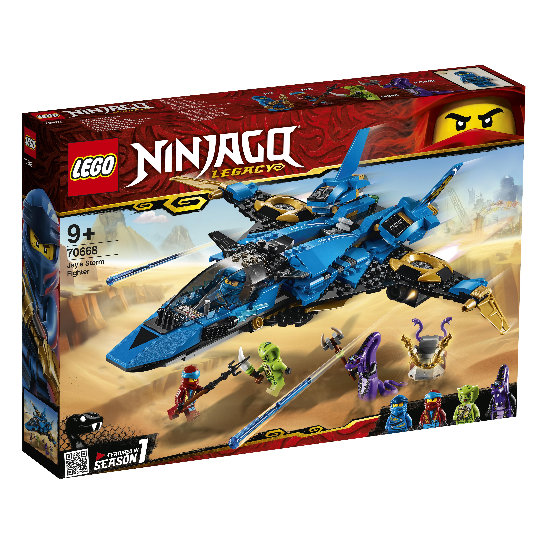 Конструктор LEGO 70668 Штормовой истребитель Джея